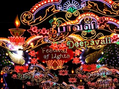 Happy Deepavali (Diwali) | Festival of Lights | Little India (Singapore) (I Prahin | www.southeastasia-images.com) Tags: colour festival lights singapore neon littleindia diwali festivaloflights tamil rama array deepavali ravana serangoonroad  gettyimagessingaporeq1