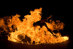From Within the Flames (goosta) Tags: newmexico fire flames albuquerque nm nobhill firedancer shopandstroll capturetheseason