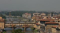 Florence, Italy (morganmarilyn70) Tags: italy florence europe cityscape bridges florenceview romancities cityviewofflorence