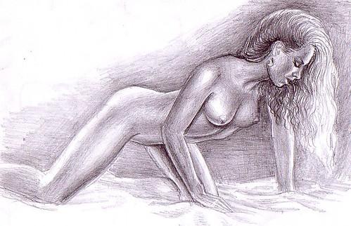Femeie frumoasa goala