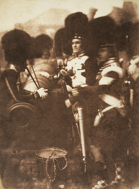 92nd Gordon Highlanders at Edinburgh Castle by National Galleries of Scotland Commons