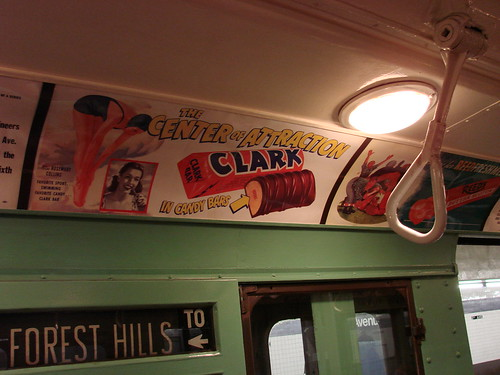 Vintage Subway Ride
