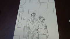 Doctor Who cover progress....