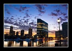 Evening Star (DP Photography) Tags: sunset clouds newjersey twilight hudsonriver blueskies bluehour dri pavonia eveningstar dynamicrangeimaging debashispradhan dpphotography smokelessair dp photography