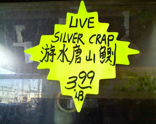 "I think they meant ""silver carp"" by Ro'sMom via Flickr"