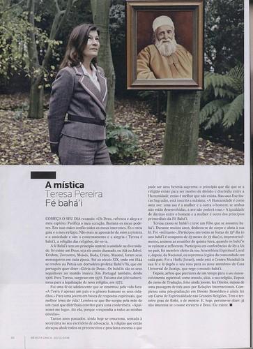 Artigo na Revista Única