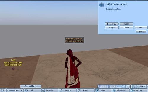 Avatar Scanner HUD