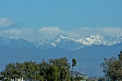 The mountains behind the mountains (jakerome) Tags: california mountains losangeles boxingday manhattanbeach southbay cleanair snowcappedmountains clearskies