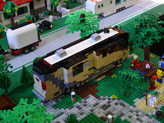 camping lego vehicle rv campground motorhome fleetwood