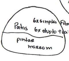 Pata Rena Molde (Little Felt - by Vivi Cordeiro) Tags: natal de rvore molde