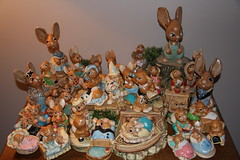 Pendelfin collection (hplecky) Tags: collections rabbits pendelfin willowofthewood