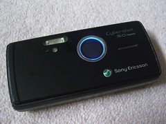 Blue Ring Of Death - Sony Ericsson K850i