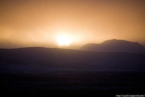 Bolivian Sunset