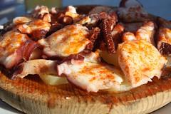 Pulpo a la Gallega (jlastras) Tags: food bar restaurant muelle comida restaurante santander cantabria aperitivo pulpo taberna gallega comillas
