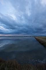 Salty Cloud (Zolla77) Tags: blue sunset sea italy cloud water italia tramonto nuvole cloudy salt saltpond saline romagna cervia canonefs1022mmf3545usm canoneos40d