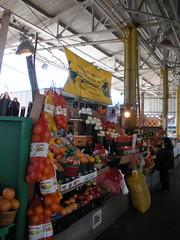 Farmers Market Produce Stall
