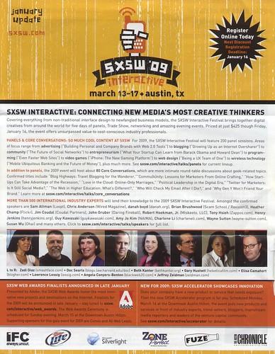 SXSW 2009 Interactive