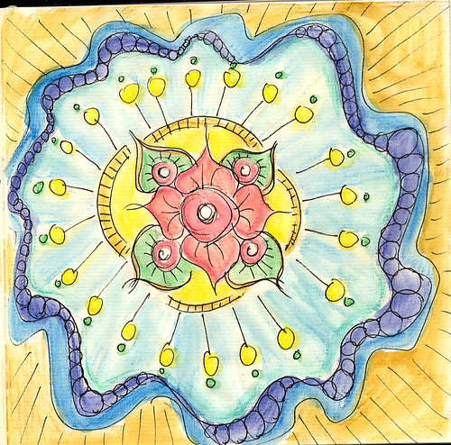 Derwent Inktense Mandala