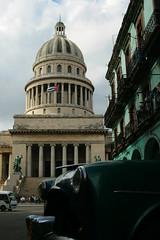 Capitol, central habana