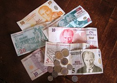 Turkish money, 2008 (Turkish lira)