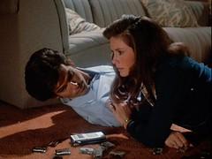 Remington Steele, Laura Holt listen to romance novel