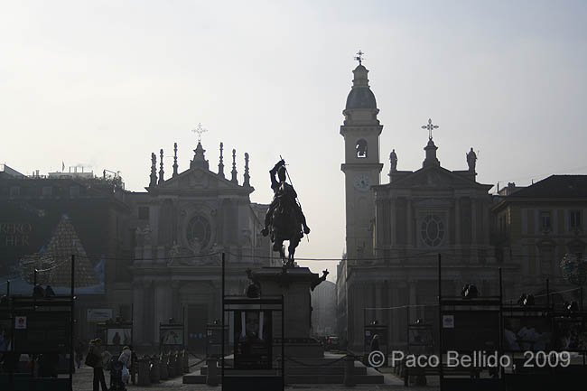 Piazza San Carlo. © Paco Bellido, 2009