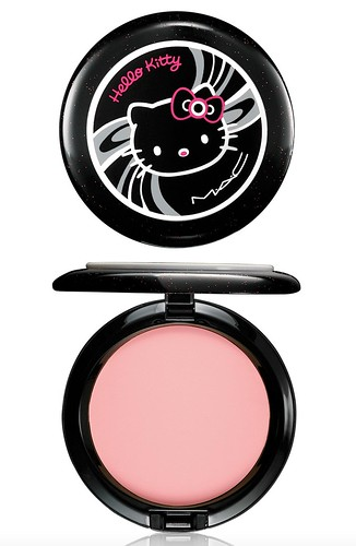 MAC Hello Kitty-美顏蜜粉餅BEAUTY POWDER-PrettyBaby-NT$900 by you.