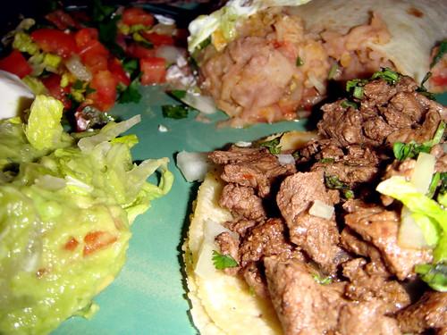 dinner from La Fuente