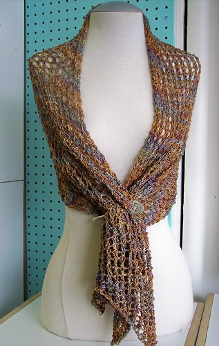 handmaiden bias shawl by you.