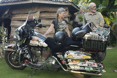 Kaye Peter and the Harley