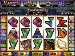 Aztecs Treasure Nodownload Video Slot