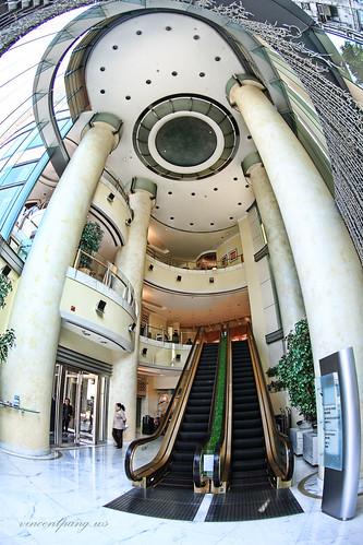 Lobby of Metropark Causeway Bay