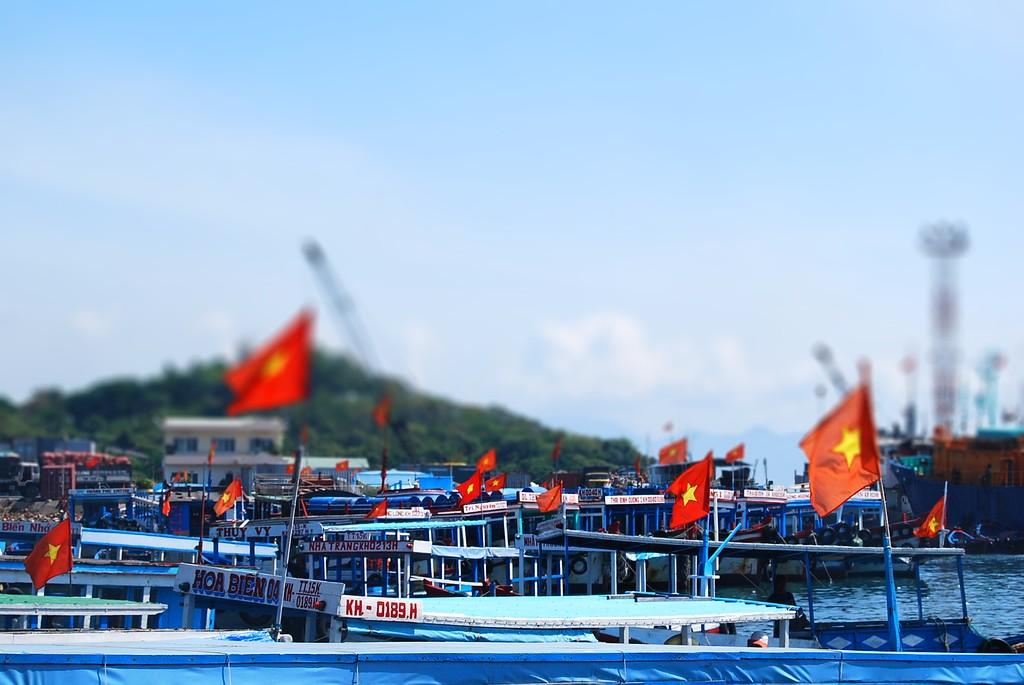 El Puerto de Nha Trang Tilt Shift