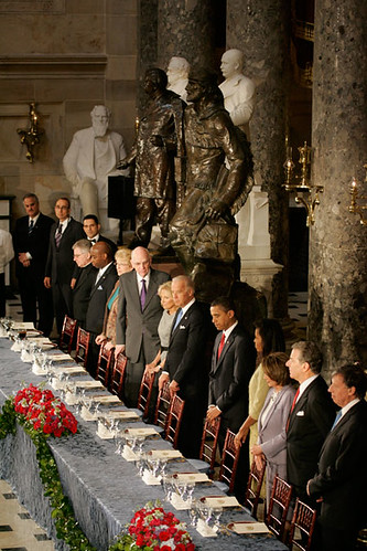 Inauguration Day 2009: Statuary Hall luncheon by USA TODAY.