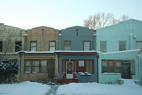 More Gary Row Houses
