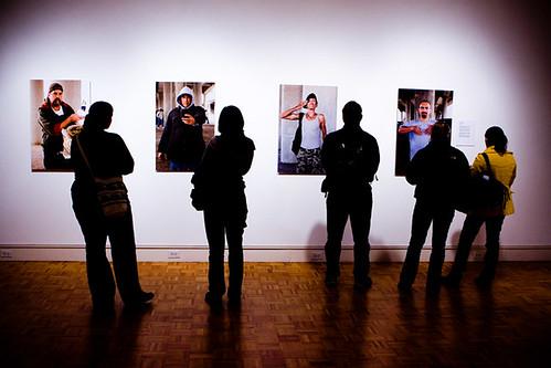 ECU 6th Photo Biennial Opening 1/22/09