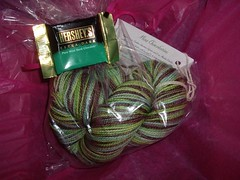 Yarntini Happy Hour Sock Club in Mint Chocolatini