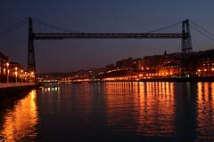 LightS (La_Babi) Tags: bridge light spain bilbao ponte espana luci bilbo paisvasco spagna paesibaschi allievoeiffel