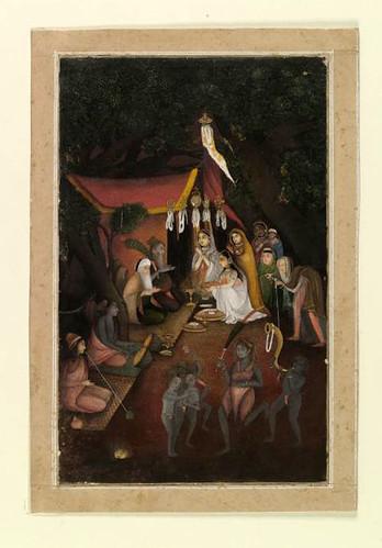 018- Pintura india siglos XVIII- XIX