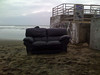 Couch on Ocean Beach