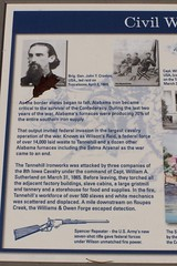 A Historical Sign that Opened my Eyes (J. Stephen Conn) Tags: alabama civilwar tannehill warbetweenthestates tannehillhistoricalstatepark wartopreventsouthernindependence