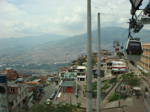 Medellín's impressive masterpiece, the MetroCable