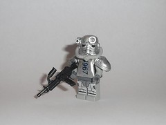 power! (Exxtrooper) Tags: 3 brick handle belt mod power arms lego suit ba 50 ammo modification lmg fallout rounds brickarms