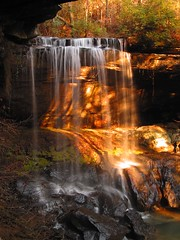 Piercing The Veil (Barry Minor (bmine5)) Tags: park light favorite sun sunlight fall water beautiful beauty forest waterfall flickr state alabama falls fave explore national finest natures bankhead classique sipsey naturesfinest bmine bmine5 sougahoagdee