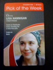 Starbucks iTunes Pick of the Week - Lisa Hannigan - I Don't Know