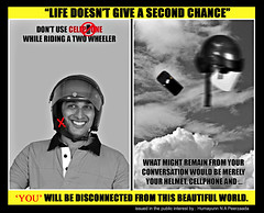 "Life doesn't give a second chance (Humayunn Niaz Ahmed Peerzaada) Tags: world friends india beautiful mobile layout model graphics friend photographer traffic graphic cellphone cell police thinking actor disconnected maharashtra concept mumbai visual ahmed publicservice niaz naresh kutch humayun trafficpolice d90 madai publicinterest beautifulworld nagda photography"" faiyaz peerzada deolali nikond90 humayunn peerzaada kudachi kudchi humayoon humayunnnapeerzaada wwwhumayooncom nareshnagda humayunnapeerzaada sorathia nikond90clubasia dontusecellphonewhileridingatwowheeler lifedoesntgiveasecondchance faiyazsorathia notocellphoneyestohelmet humayunnnapeezaada"