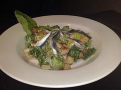 Chicken caesar salad at The Magnum, Edinburgh