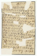 Letter Written in Cipher on Mourning Paper by ...