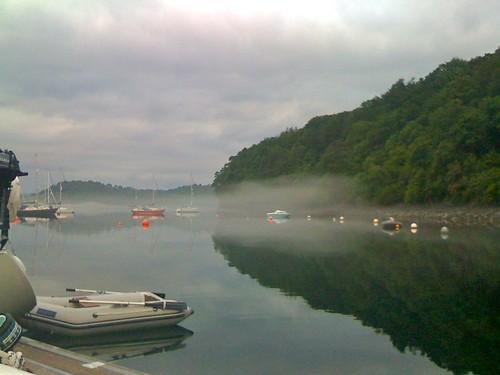 Fog rolling in, Tobermory
