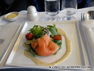 Another smoked salmon appetiser